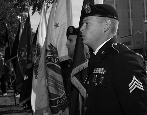 Veteran's Day in Denton Texas 2011 photography by shannon drawe photography