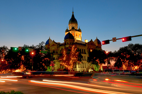 Downtown Denton Historic Courthouse on the Square 2012