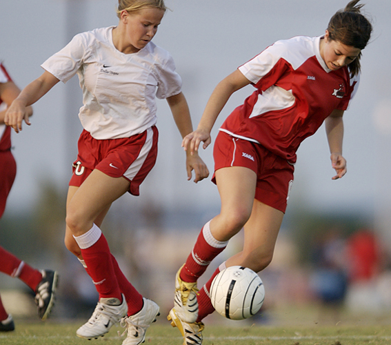 Girls soccer photography by shannon drawe photography