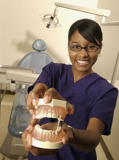 dental hygiene TWU by Shannon Drawe Photography