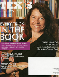 Magazine photography half price books sharon anderson